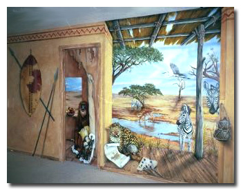 Art Effects' African Mural