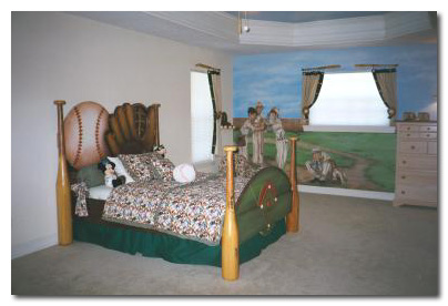 Children's Rooms with MuralsCreative Kids Rooms Painted by Art