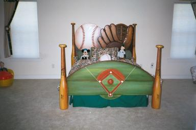 Art Effects' Baseball bed
