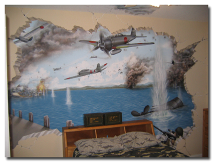 Children's Rooms with Murals...Creative Kids Rooms Painted by Art ...