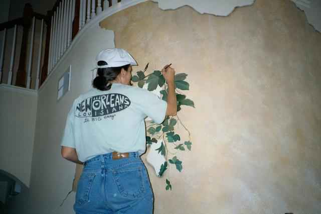 How To Break A Wall Trompe L Oeil Murals And Faux
