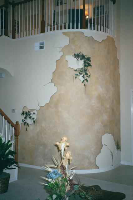Broken Wall Faux Finish
