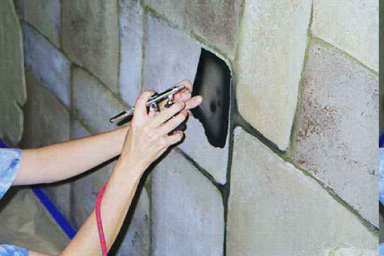 how to paint walls to look like plaster