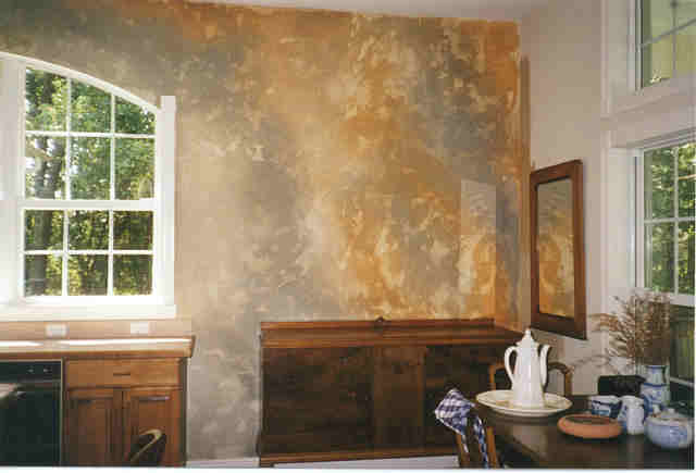 Examples of faux finishes faux finish painting by art Faux finishes for kitchen walls