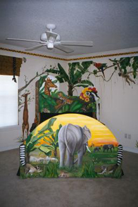 custom designed junglebed