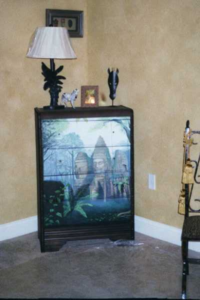 Art Effects' Rain Forest Dresser