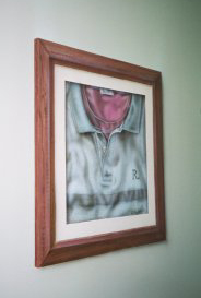 shirt in a frame