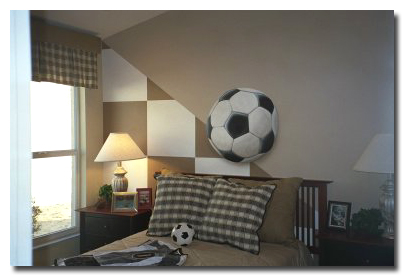 Soccer Theme Mural
