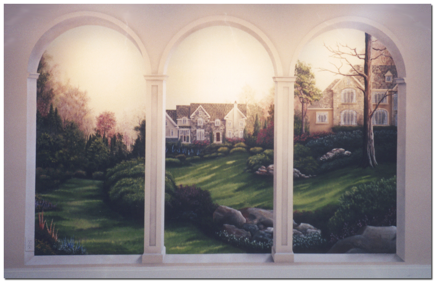http www trompe l oeil art com images wyomissing arches 40 easy wall art ideas to decorate your home